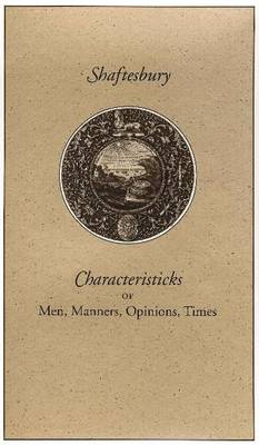 Characteristicks of Men, 3-Volume Set