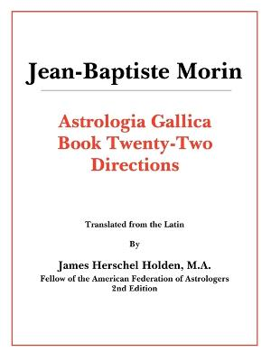 Astrologia Gallica Book 22