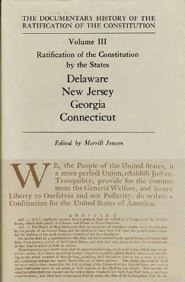 Ratification by the States Delaware Vol 111