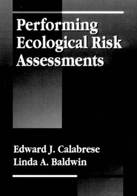 Performing Ecological Risk Assessments
