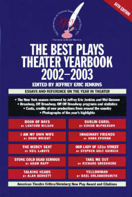 Best Plays Theater Yearbook: 2002-2003