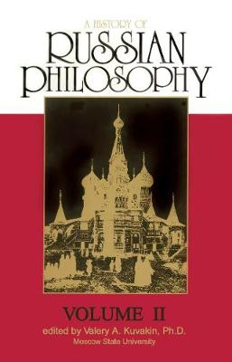 A History Of Russian Philosophy, A