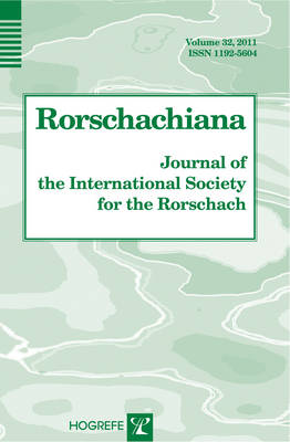 Rorschachiana: Journal of the International Society for the Rorschach: v. 32