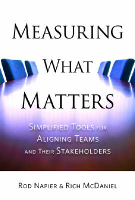 Measuring What Matters: Simplified Tools for Aligning Teams and Their Stakeholders