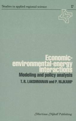 Economic-Environmental-Energy Interactions: Modeling and Policy Analysis