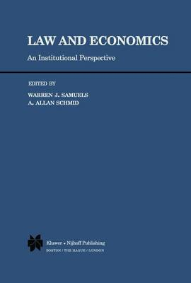 Law and Economics: An Institutional Perspective