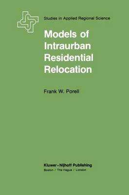 Models of Intraurban Residential Relocation