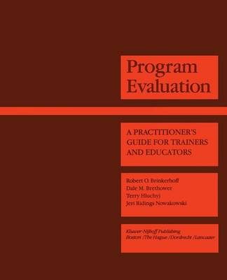 Programme Evaluation: A Practitioner's Guide for Trainers and Educators