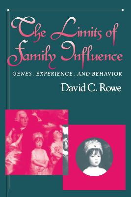 Limits of Family Influence: Genes, Experience And Behavior