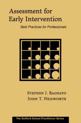 Assessment for Early Intervention: Best Practices for Psychologists