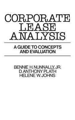 Corporate Lease Analysis: A Guide to Concepts and Evaluation