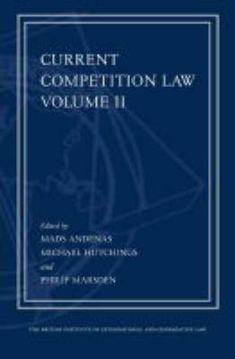 Current Competition Law: Pt. 2
