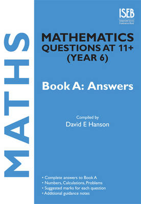Mathematics Questions at 11+ (year 6): Bk. A: Answers