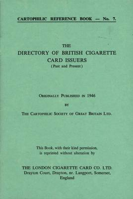 Directory of British Cigarette Card Issuers