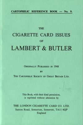 Cigarette Card Issues of Lambert & Butler