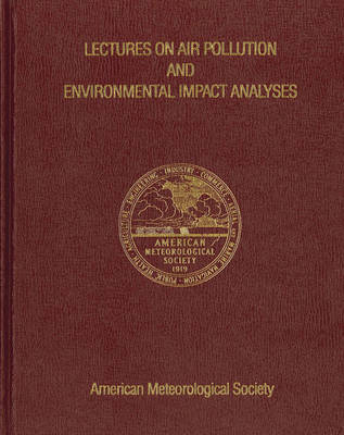 Lectures on Air Pollution and Environmental Impact Analyses