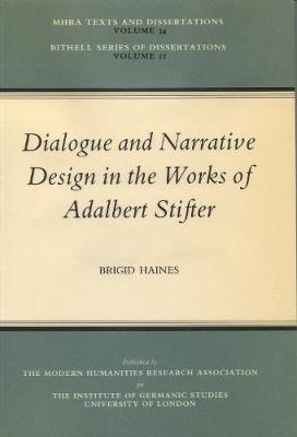 Dialogue and Narrative Design in the Works of Adalbert Stifter