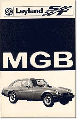 MG MGB Tourer and GT Tuning: Owners' Handbook