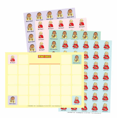 Let's Sign BSL Reward Chart and Stickers