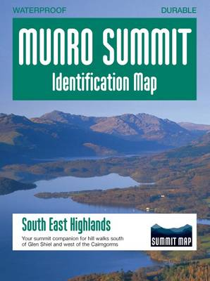 Munro Summit Identification Maps: South East Highlands