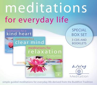 Meditations for Everyday Life (Audio 3 CDs): Special Box Set 3 CDs and Booklets