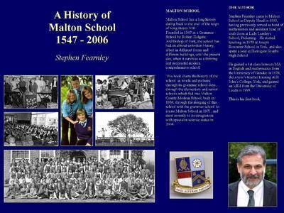 A History of Malton School 1547-2006
