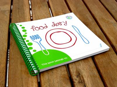 Wipe-able Food Diary