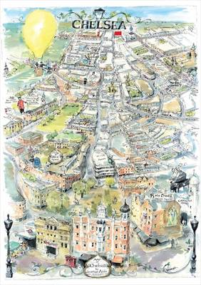 Map of Chelsea: Hand Drawn in Ink and Watercolour
