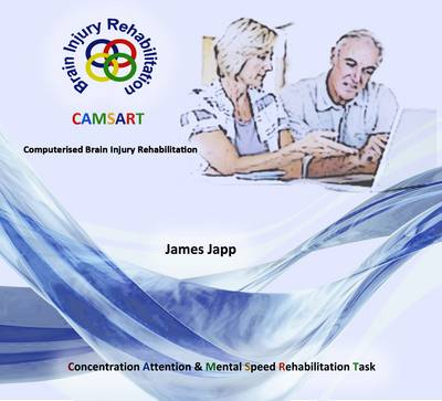 CAMSART Computerised Brain Injury Rehabilitation: Computerised Attention & Mental Speed Rehabilitation Task