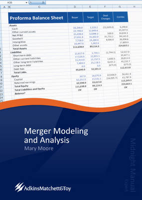 Merger Modeling and Analysis: Midnight Manual