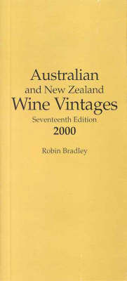 Australian and New Zealand Wine Vintages