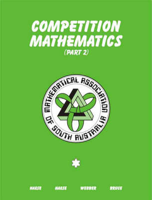 Competition Mathematics: Part 2: Part 2