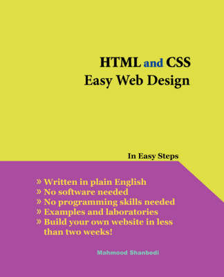 HTML and CSS Easy Web Design