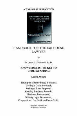 Handbook for Jailhouse Lawyers
