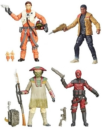 Star Wars Black Series Wave 1 Action figures