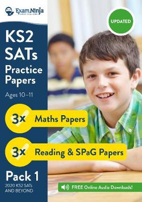 KS2 SATs Practice Papers - Pack 1 (English Reading, SPaG & Maths) Inc. Answers & Audio (New Curriculum): Inc. Free Audio Downloads: 2017