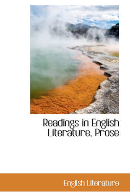 Readings in English Literature, Prose