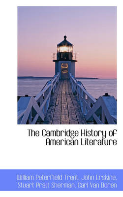 The Cambridge History of American Literature