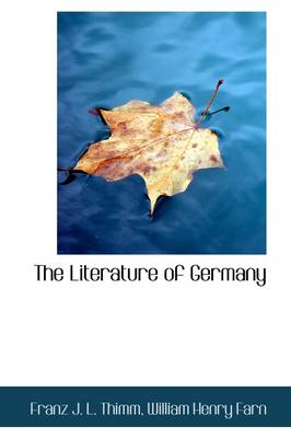 The Literature of Germany