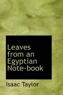 Leaves from an Egyptian Note-Book