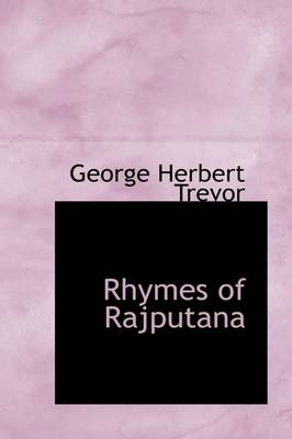 Rhymes of Rajputana