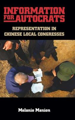 Information for Autocrats: Representation in Chinese Local Congresses