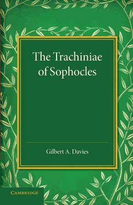 The Trachiniae of Sophocles