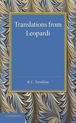 Translations from Leopardi