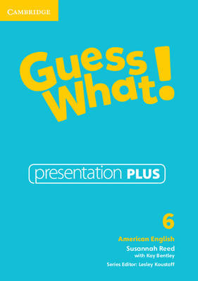 Guess What! American English Level 6 Presentation Plus