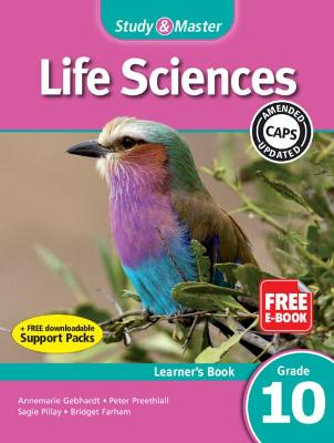 Study and Master Life Sciences Grade 10 CAPS Learner's Book