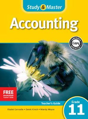 Study & Master Accounting Teacher's Guide Grade 11