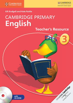 Cambridge Primary English Stage 3 Teacher's Resource Book with CD-ROM