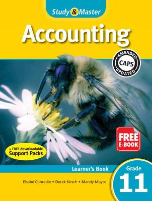Study & master accounting : Gr 11: Learner's book