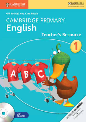 Cambridge Primary English Stage 1 Teacher's Resource Book with CD-ROM